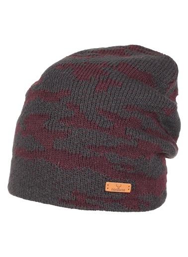 Nordbron Camo Beanie Şapka Antrasit